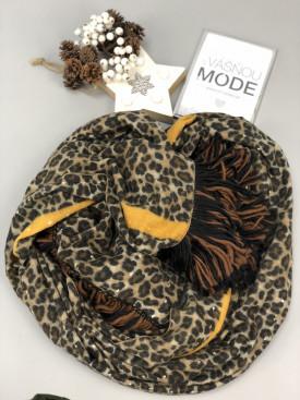 Šál leopard pásik