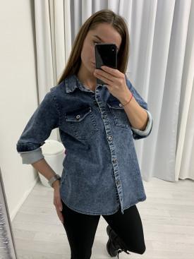 Košeľa džínsová 6035