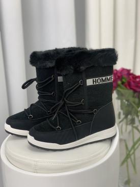 Topánky 11013 čierne