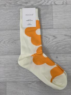 Ponožky oranžový kvet