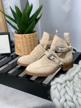 Topánky 01 béžové