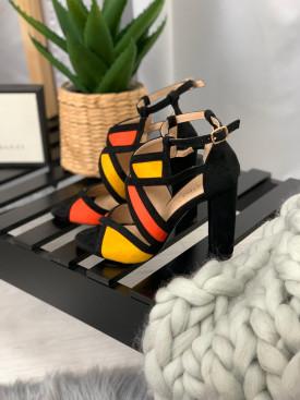 Topánky 071 oranžové