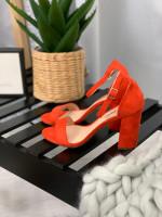 Topánky 59 červené