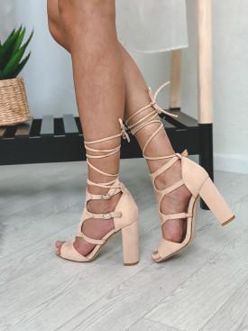 Topánky 111 béžové