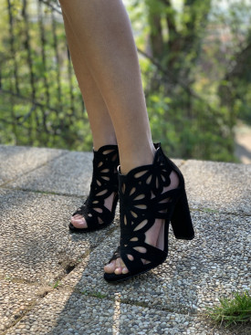 Topánky 304 čierne