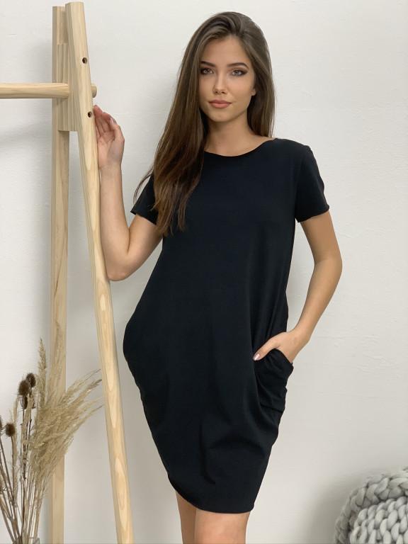 Šaty fashion krátky rukáv