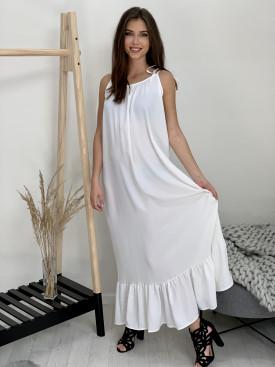 Šaty biele dlhé 90170