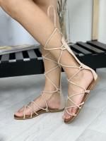 Topánky 155 béžové