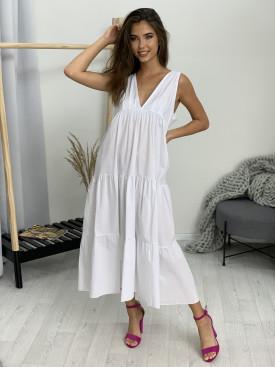 Šaty dlhé bavlnené 918