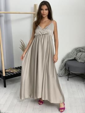 Šaty dlhé saténové 52183