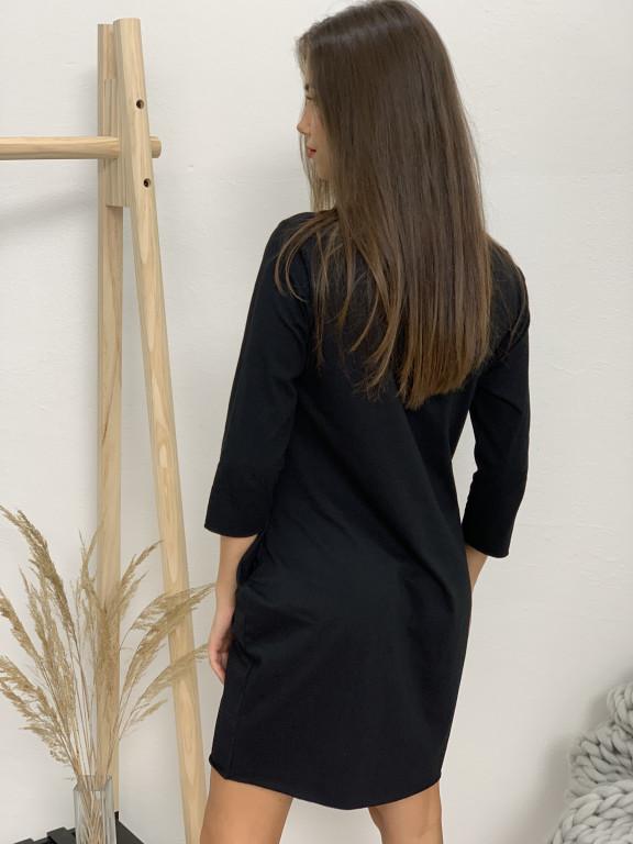 Šaty fashion dlhý rukáv