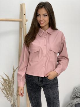 Košeľa koženková  1010