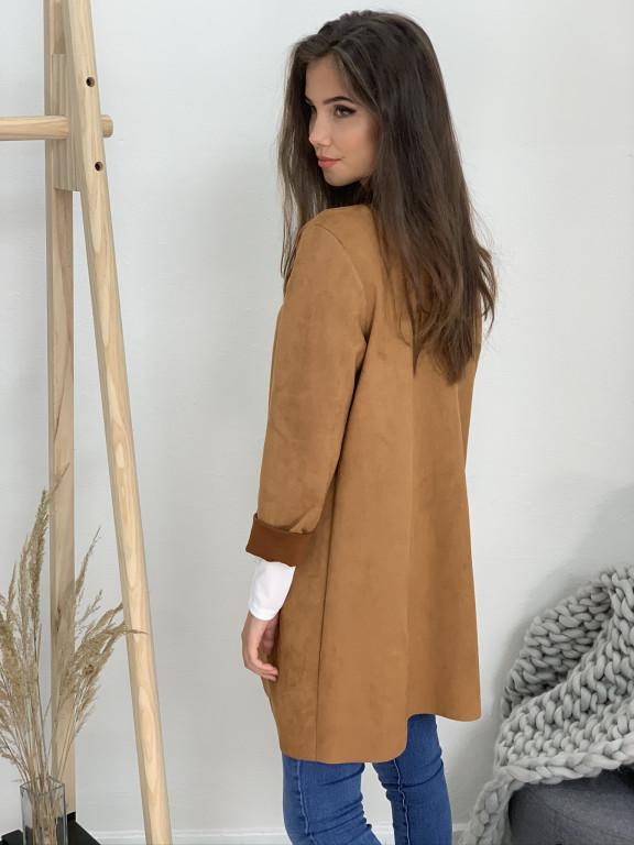Kabátik jednofarebný 1027