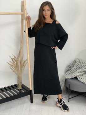 Šaty dlhé jednofarebné 4980