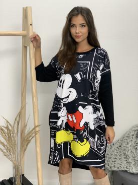 Šaty dlhý rukáv Mickey Komiks 3029