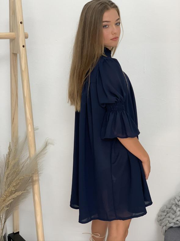 Šaty krátké s páskem 0506
