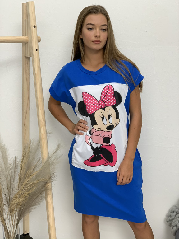 Šaty teplákové Minnie 8625