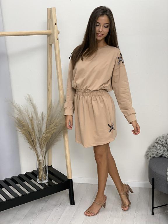 Šaty teplákové movement 8977