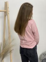 Tričko dlouhý rukáv na vázání