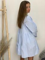 Šaty na gombíčky jednofarebné 31655