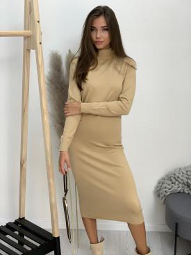 Šaty úpletové stojačik 628