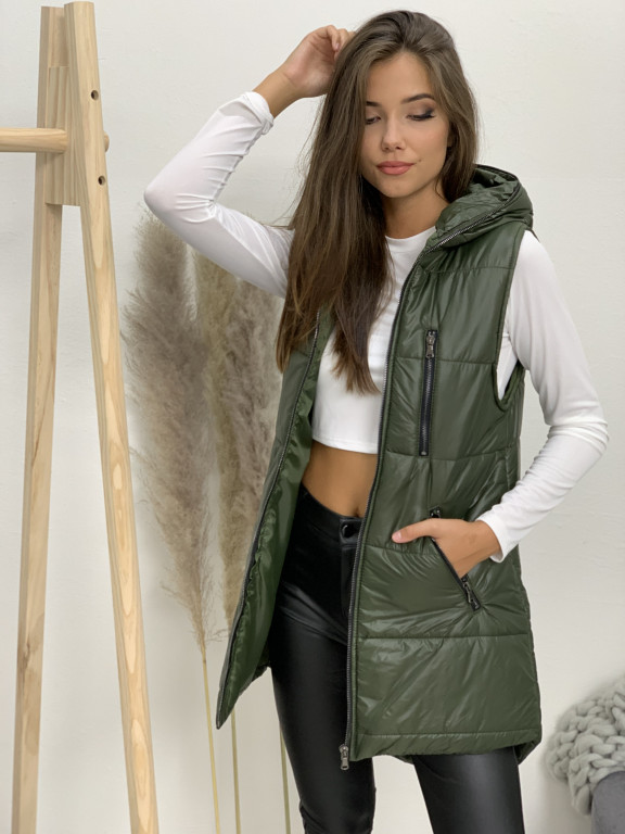 Vesta s kapucňou Natalia 8390
