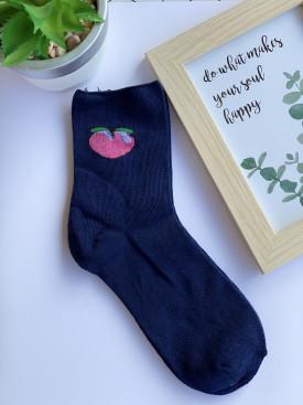 Ponožky broskyňa