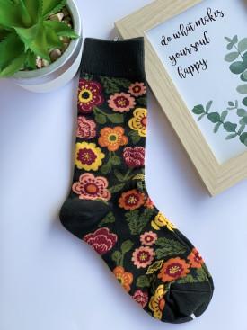 Ponožky kvety lúka