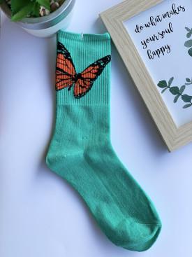Ponožky motýľ