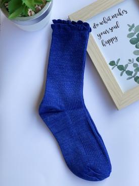 Ponožky s lesklou niťou