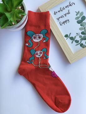 Ponožky šašo modré rukávy