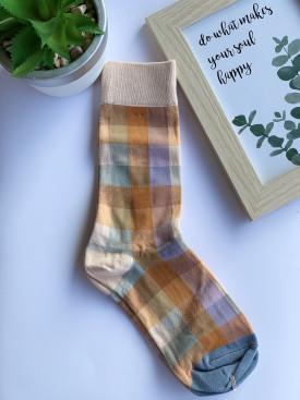 Ponožky štvorčeky