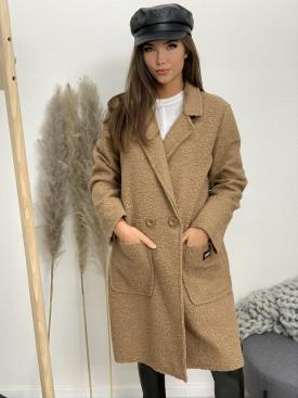 Kabát pliešok Fashion Jeans 3378
