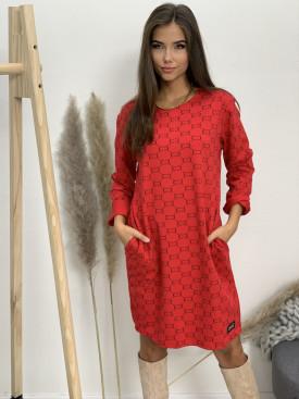 Šaty teplákové pliešok CC