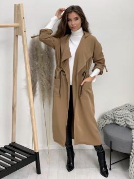 Kabát dlhý sťahovačka 8888
