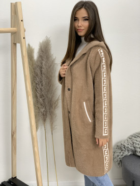 Kabát s kapucňou FL lem