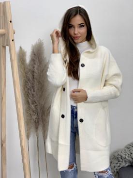 Kabátik s kapucňou veľké vrecká