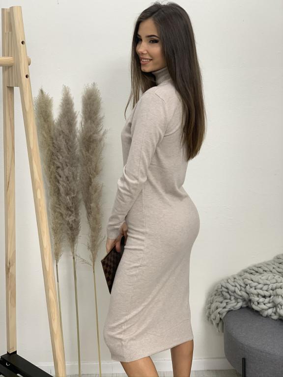 Šaty úpletové stojáček 628