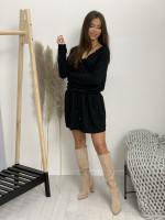 Šaty nad kolená s krajkou 21989