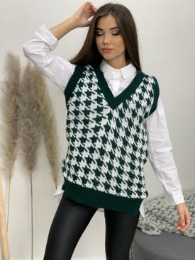 Vesta pletená véčkový výstrih pepito 9602
