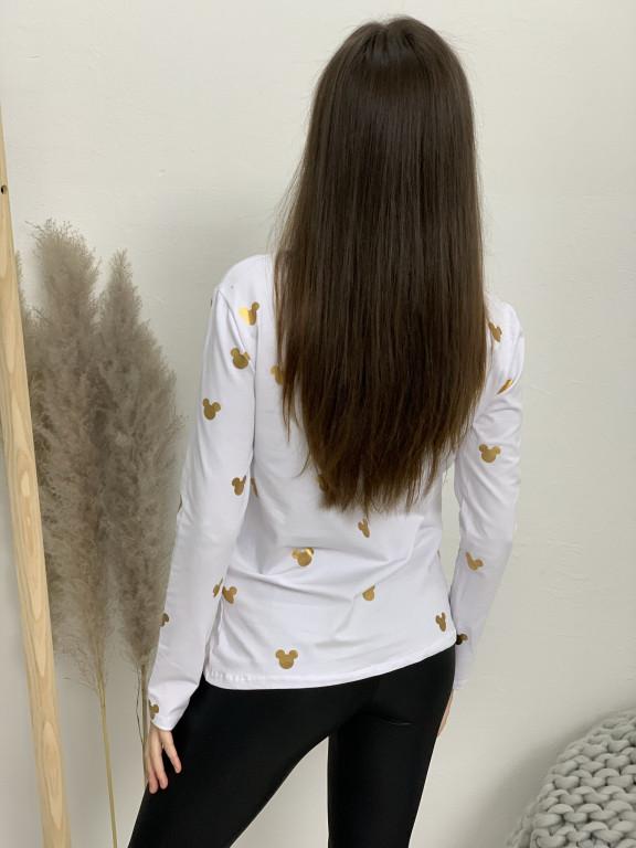 Tričko zlatý mickey