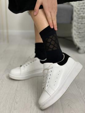 Ponožky sieťka stred