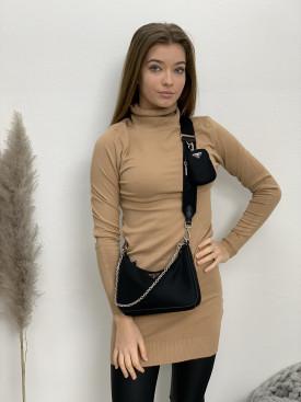 Šaty úpletové krátke 8106