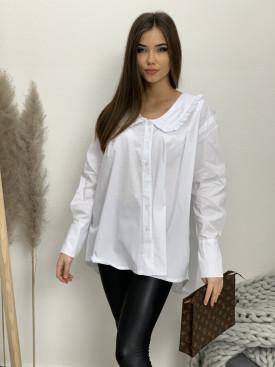 Košeľa riasený límček 85013