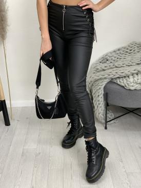 Nohavice koženkové 8150
