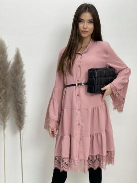 Šaty volánové čipka 3003