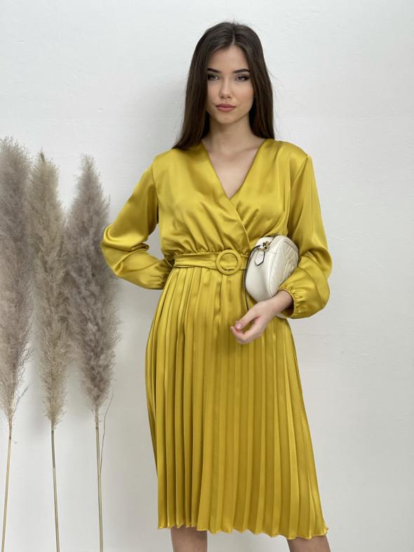 Šaty midi plisovaná sukňa 635/871