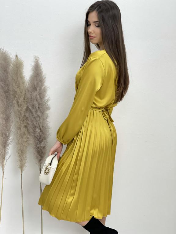 Šaty midi plisovaná sukně 635/871