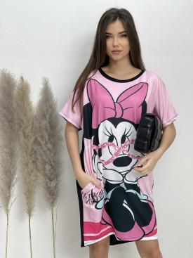 Šaty teplákové Minnie Paris