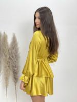 Šaty krátké saténové 618